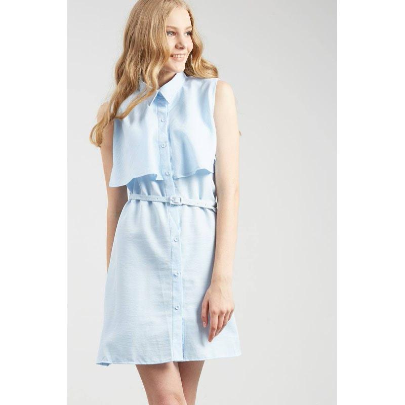 Francois Russel Dress in Blue