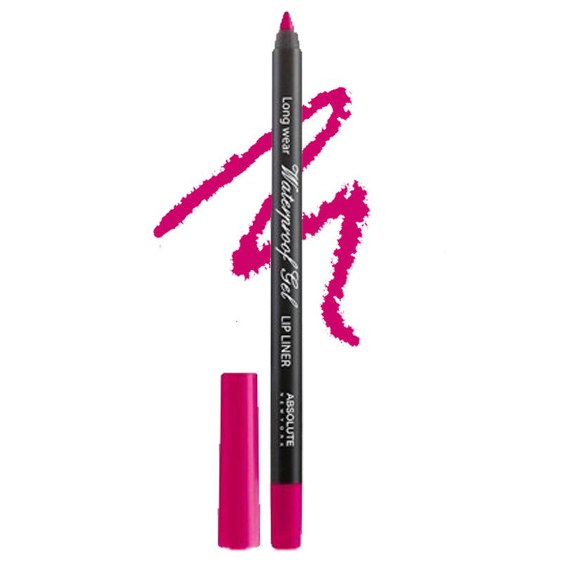 Absolute New York Long Wear Waterproof Gel Lip Liner Cherry