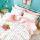 Sleep Buddy Set Sprei dan bed cover Minimalis Teen Cotton Sateen 120x200x30