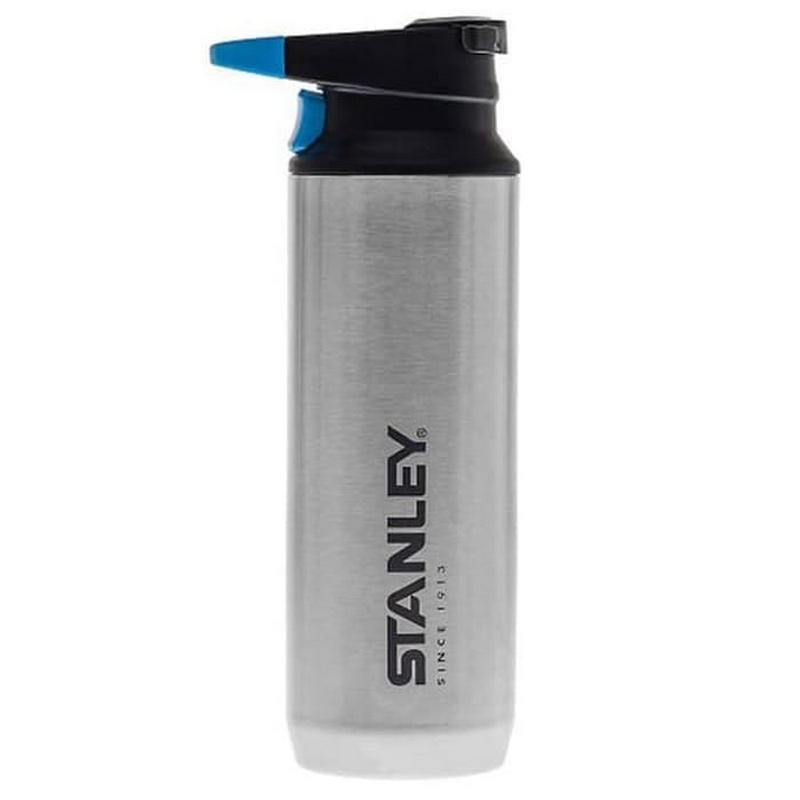 Stanley Switchback Triger Action 473Ml - Botol Minum Tahan Panas Dan Dingin Silver