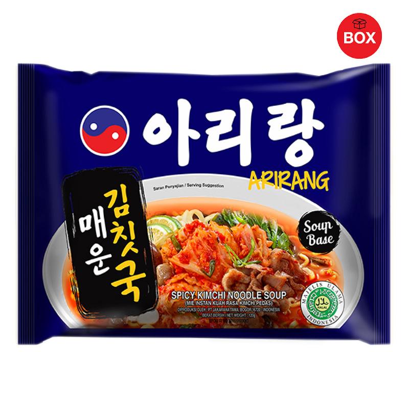 Arirang Spicy Kimchi Noodle Soup (1 Karton isi 20 pcs)
