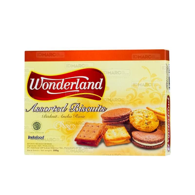 Wonderland Assorted Biskuit 300 Gr