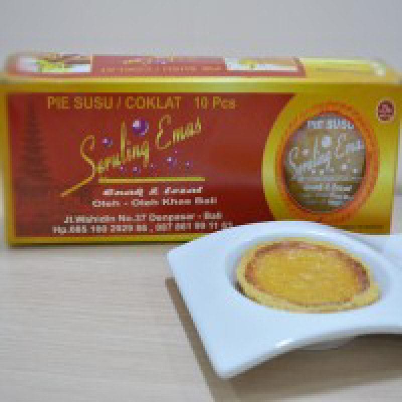 Pie Susu Seruling Emas Original (Isi 10pcs)