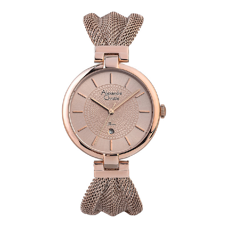 Alexandre Christie Passion AC 2872 LD BRGRG Ladies Rose Gold Dial Rose Gold Stainless Steel