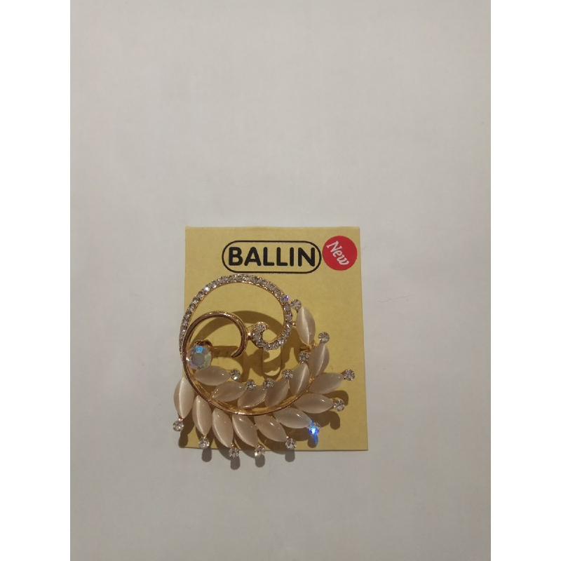 Ballin Women Brooch LF-BR07872F8G Silver