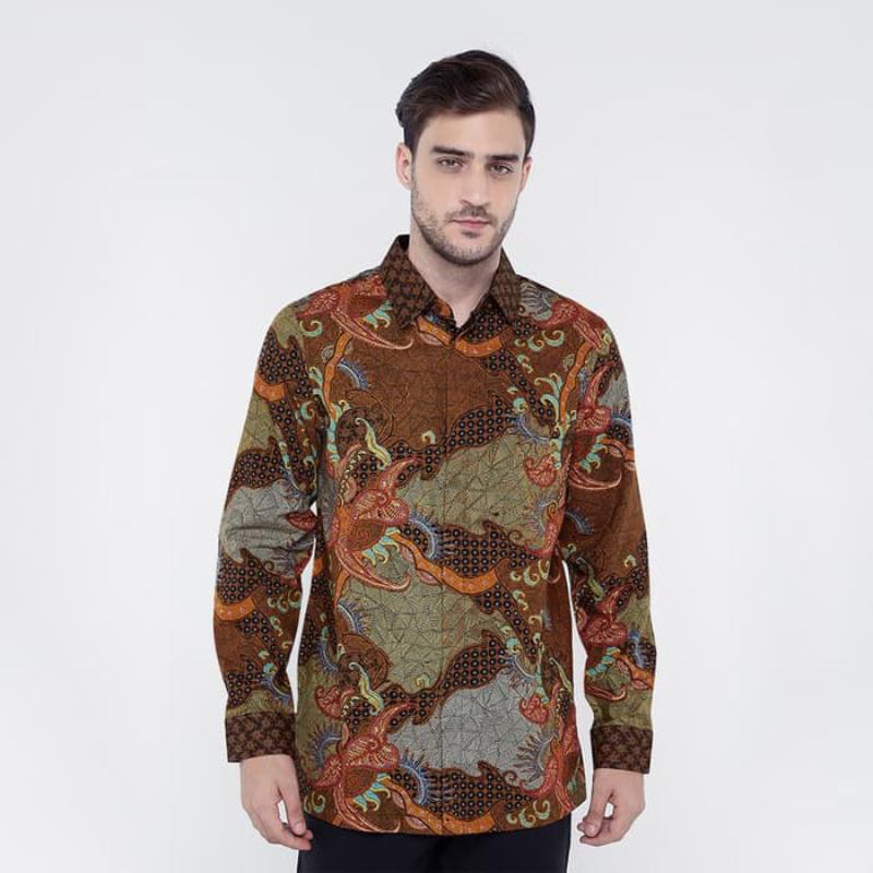 Asana Batik Long Sleeve LS162119BRN Brown