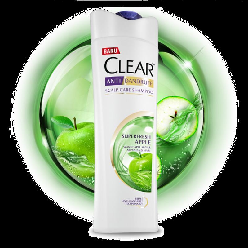 Clear Woman Shp Green Apple Fresh 70Ml