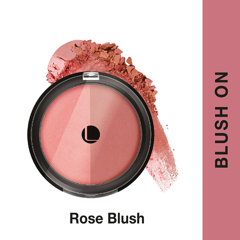 Lakme Absolute Reinvent Face Stylist Blush Duos - Rose Blush