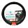 AQ Carbon Steering Cover Sarung Stir Mobil Aksesoris Mobil [Japan Import] Black-Red Small