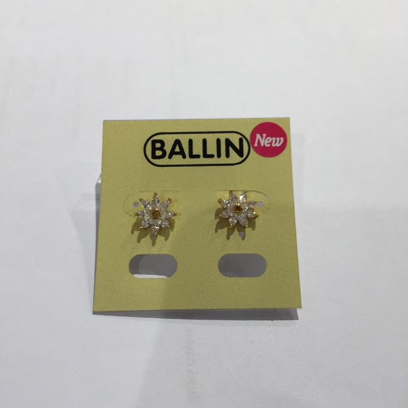 Ballin Women Earing Flower FF-E0009G Gold