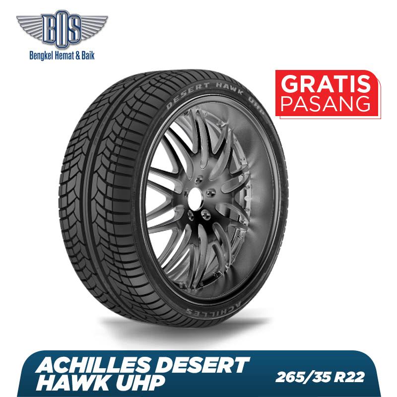 Achilles Ban Mobil Desert Hawk UHP - 265-35 R22 106V XL - GRATIS JASA PASANG DAN BALANCING
