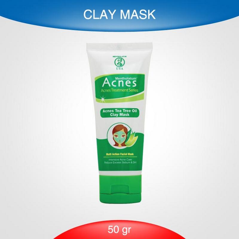 Acnes Tea Tree Oil Clay Mask 50 Gr