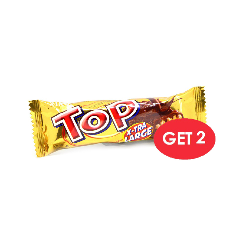 Delfi Top Chocolate Xtra Large 38 Gr (Get 2)