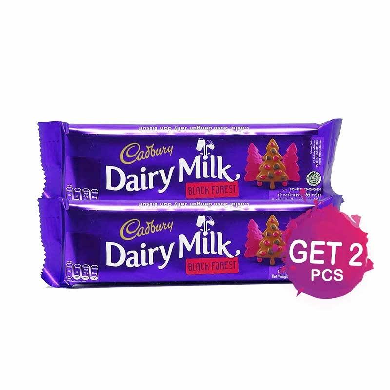 Cadbury Chocolate Black Forest 65G (Get 2)