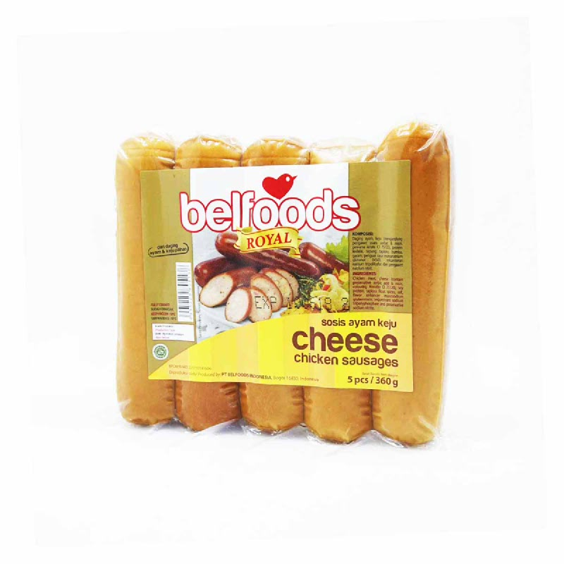 Belfoods Royal Cheese Chicken Sausages