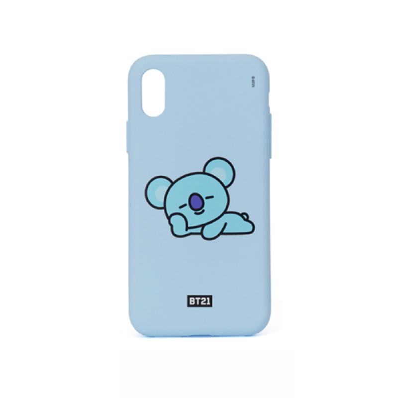 BT21 iPhone X Koya Silicon Case