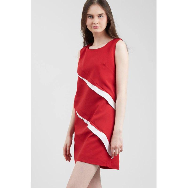 GW Geitha Dress in Maroon