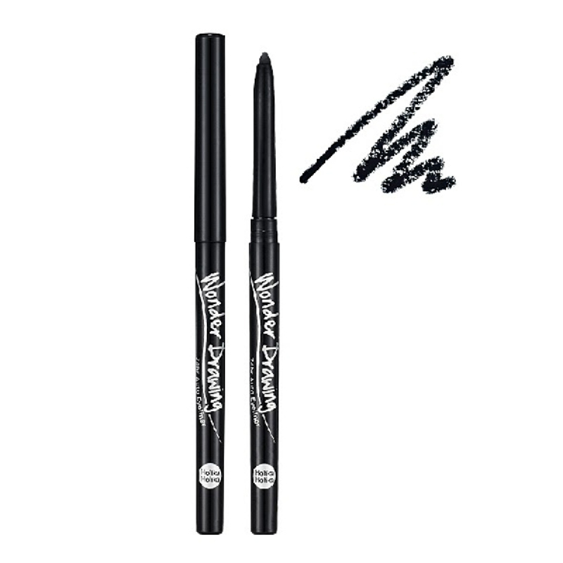 Holika Holika Wonder Drawing Auto Eyeliner 01 Black