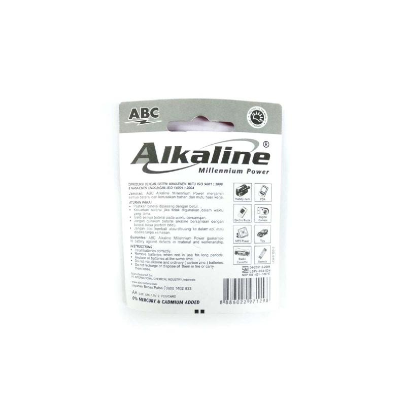 Abc Battery Alkaline Lr-06 Mp 2B