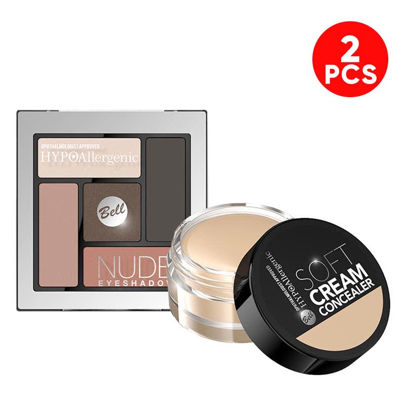 Bell HYPOAllergenic Nude Eyeshadow 01 - Buy2sell in Vietnam