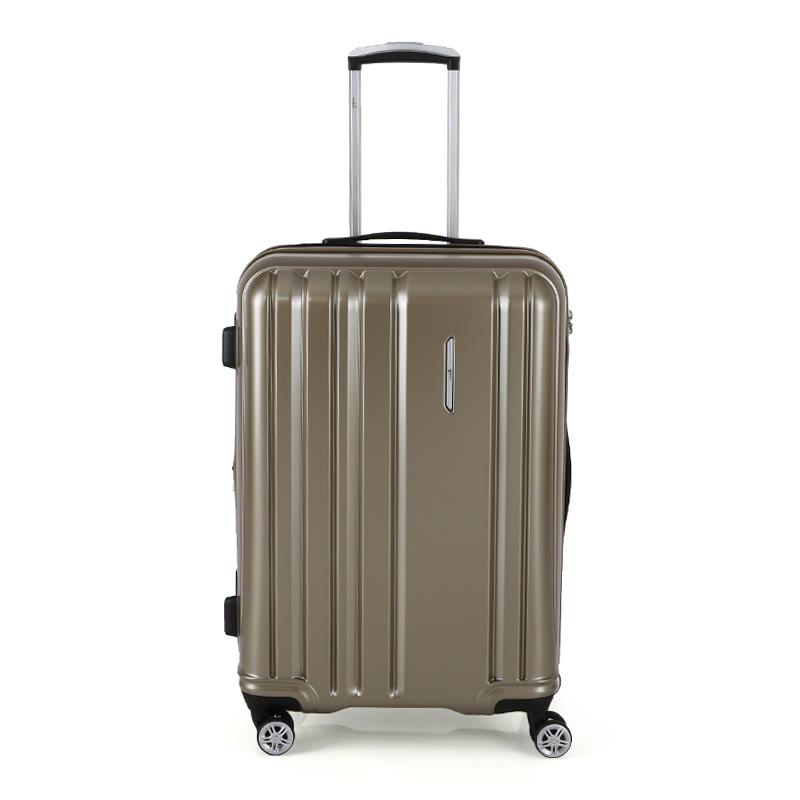 Condotti Hardcase Luggage Size 24 inch 4 Wheels TSA Lock - Gold