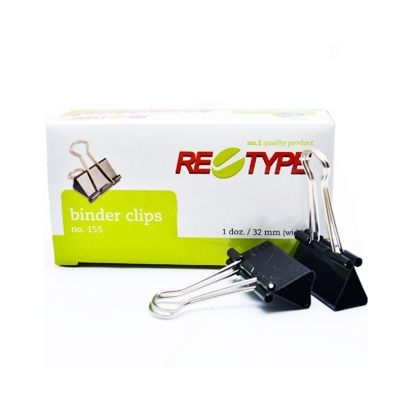 Retype Binder Clip No.155