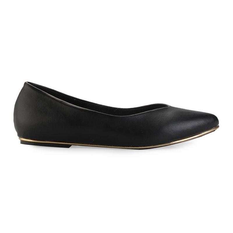 Alivelovearts Flat Shoes Loki Black