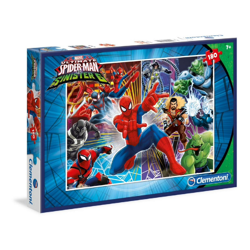 Clementoni Spiderman and the sinister six - 180 pcs - Special Collection