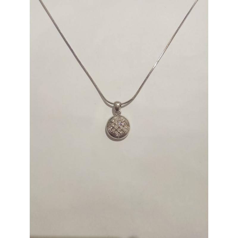 Ballin - Women Necklace FF N0007G Silver