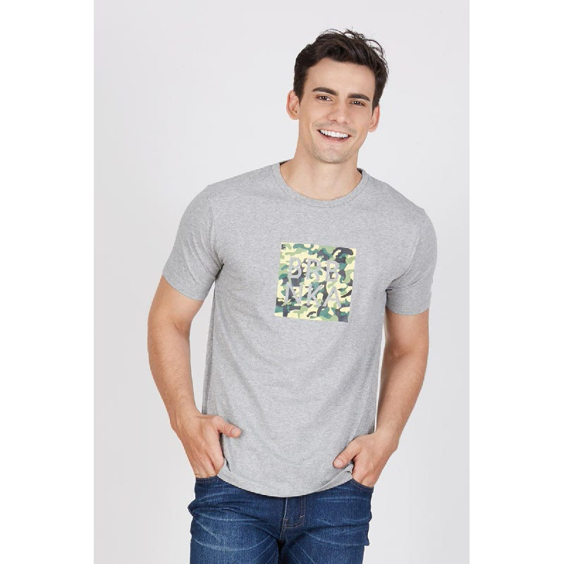 Men B Camo Tshirt Misty