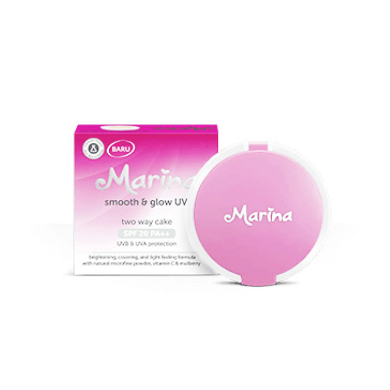 Marina Two Way Cake Sweet Uv Protection Natural 12.5G
