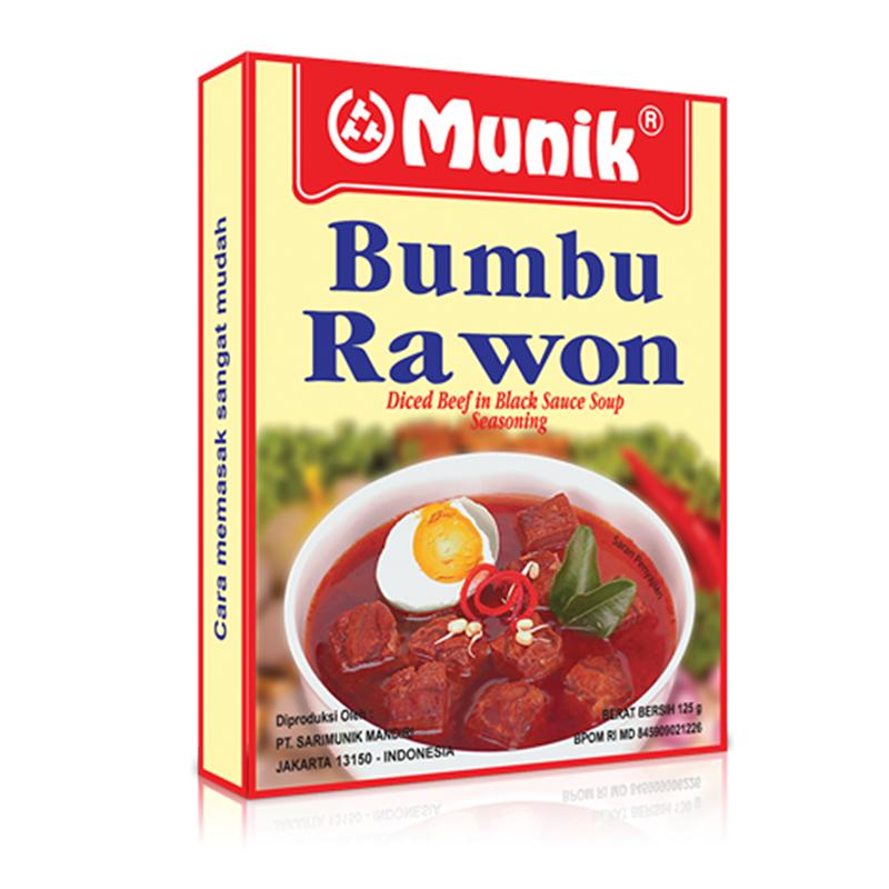 Munik Bumbu Rawon  125Gram