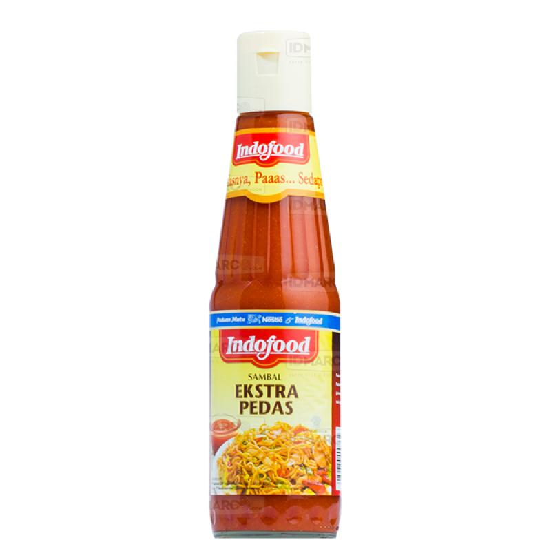 Sambal Indofood Ekstra Pedas Botol Besar 340 ml