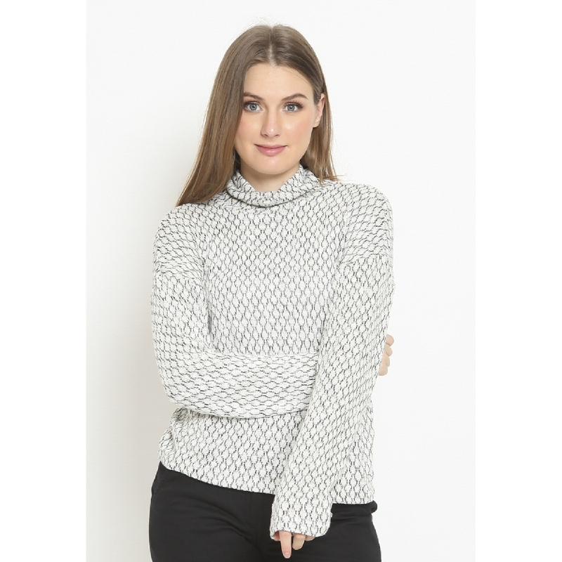 Agatha Sunday Morning Sweater White