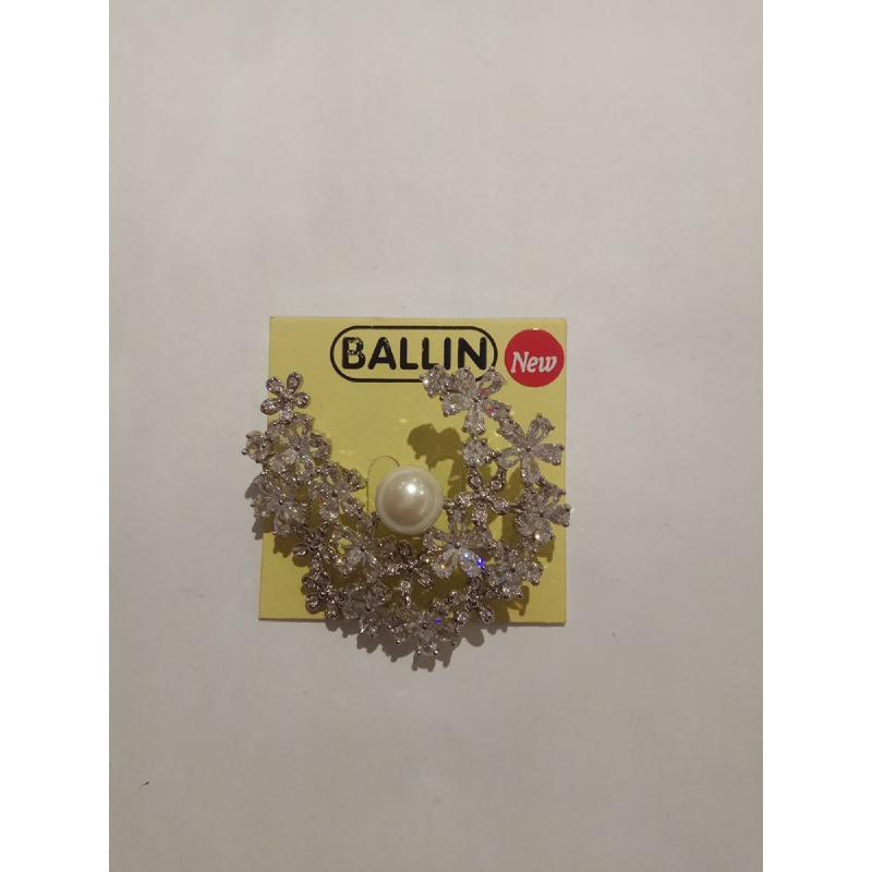 Ballin Women Brooch FF-BR0018S Silver