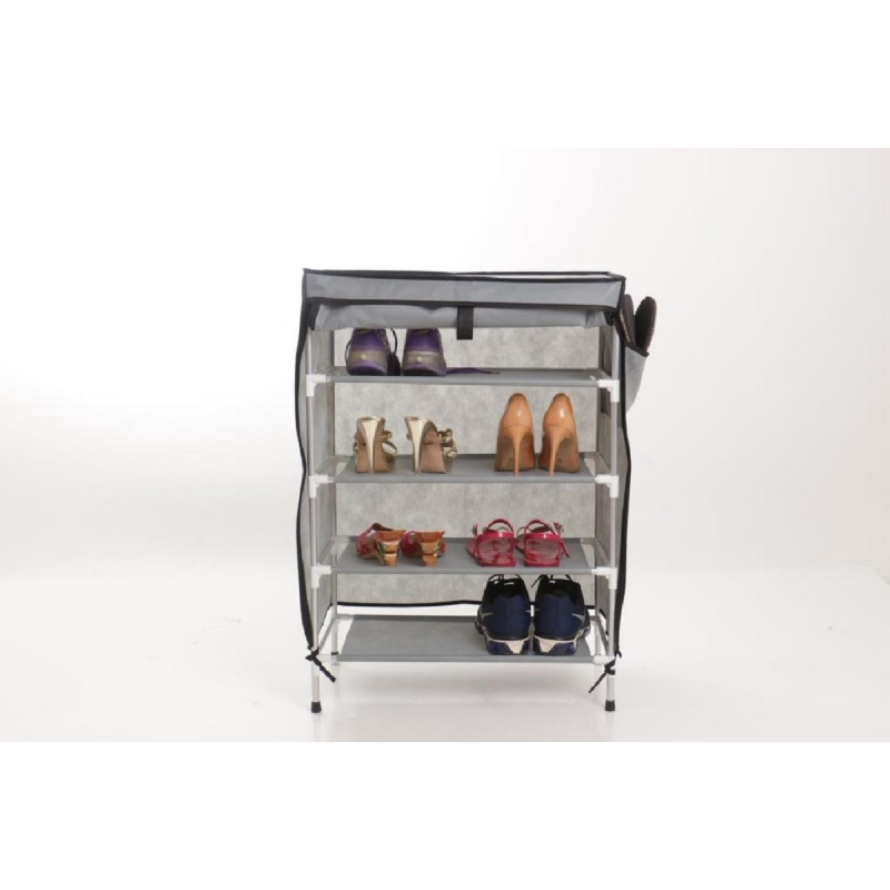 Anya Living Rak Sepatu 004  - Grey