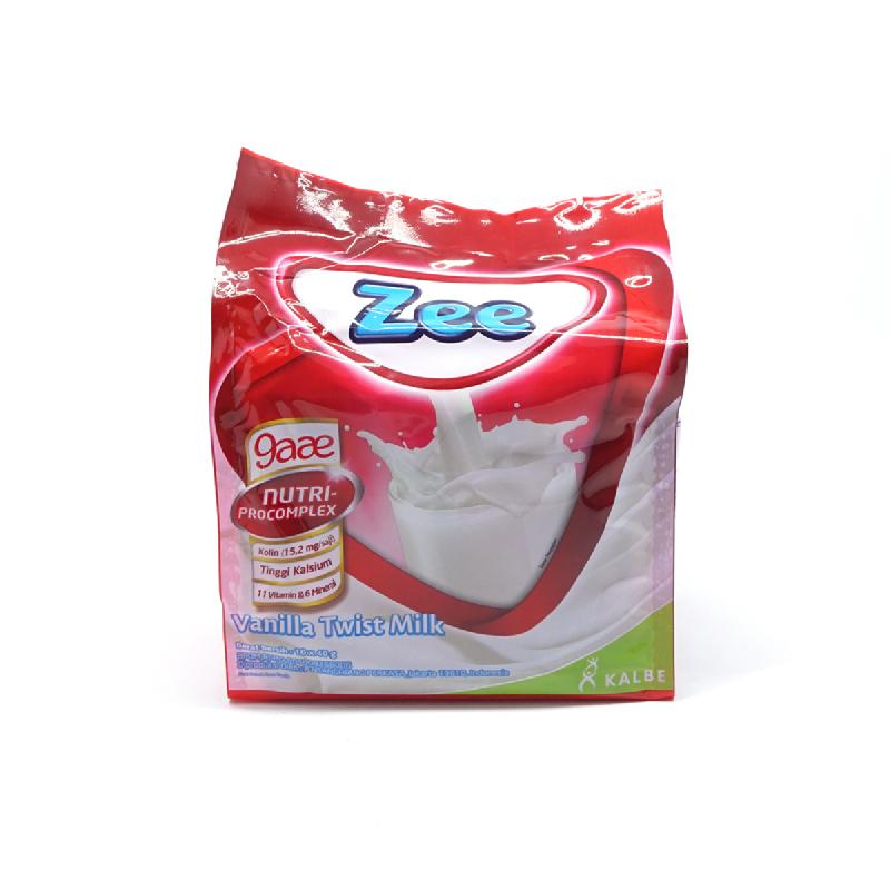 Zee Vanila Twist Bag 10x40gr