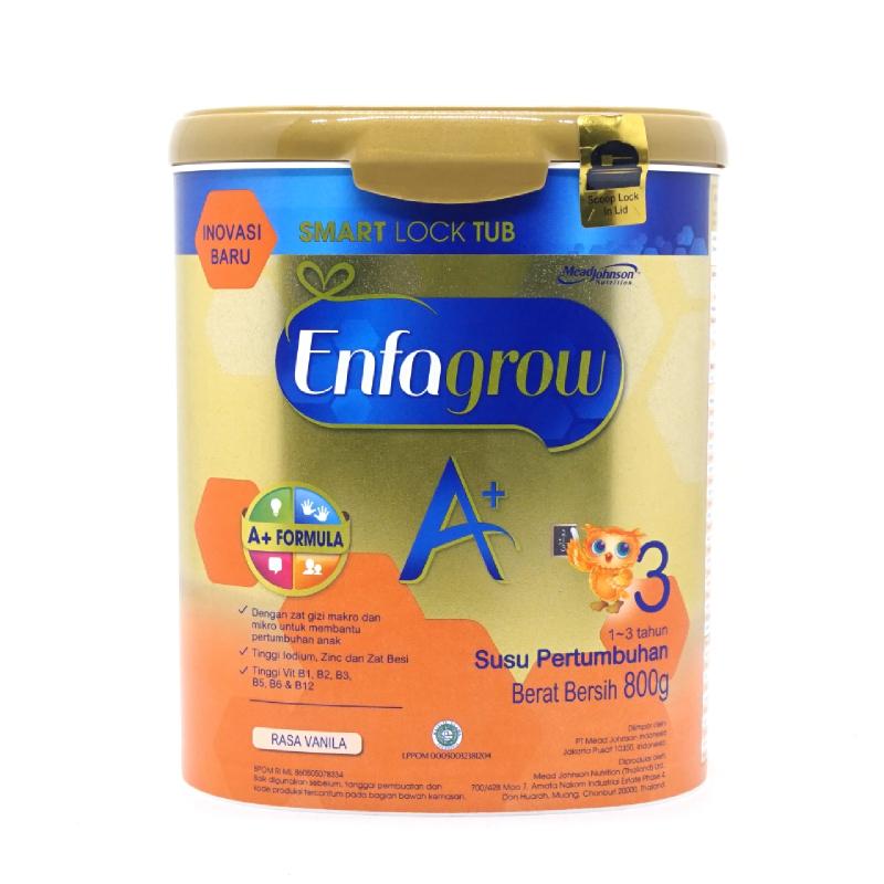 Enfagrow Powder Milk A+ 3 Vanilla Tin 800G