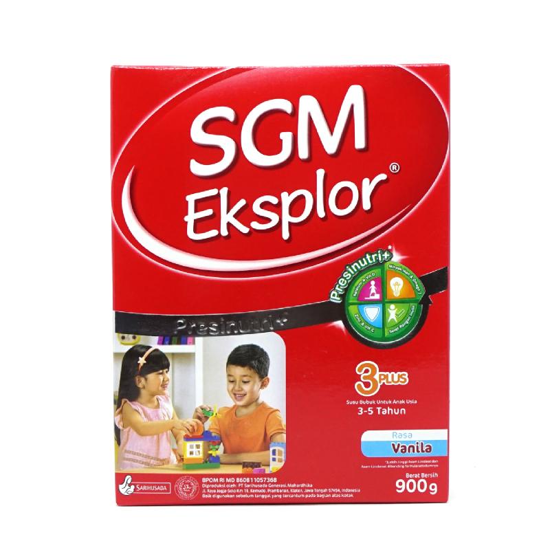 Sgm Eksplor 3+ Vanila Box 900Gr