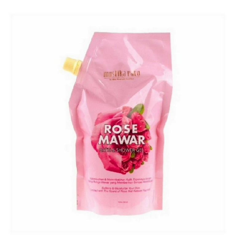 Mustika Ratu Rose Bath&Shower Gel Reff 5