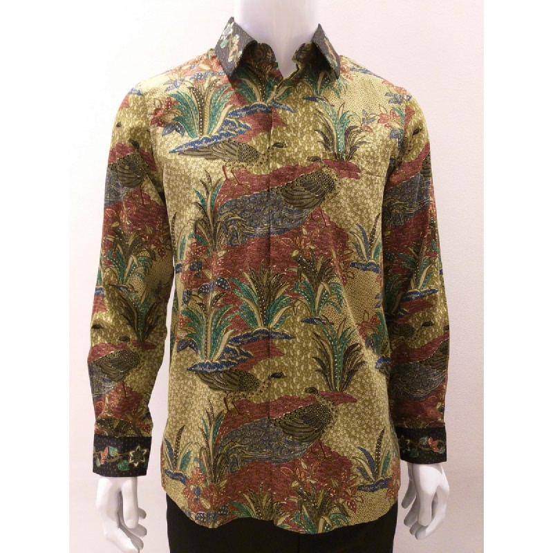 Asana Batik Long Sleeve LS16989GRN Green