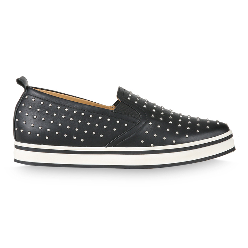 Winston Smith Slip On 168-3-Black