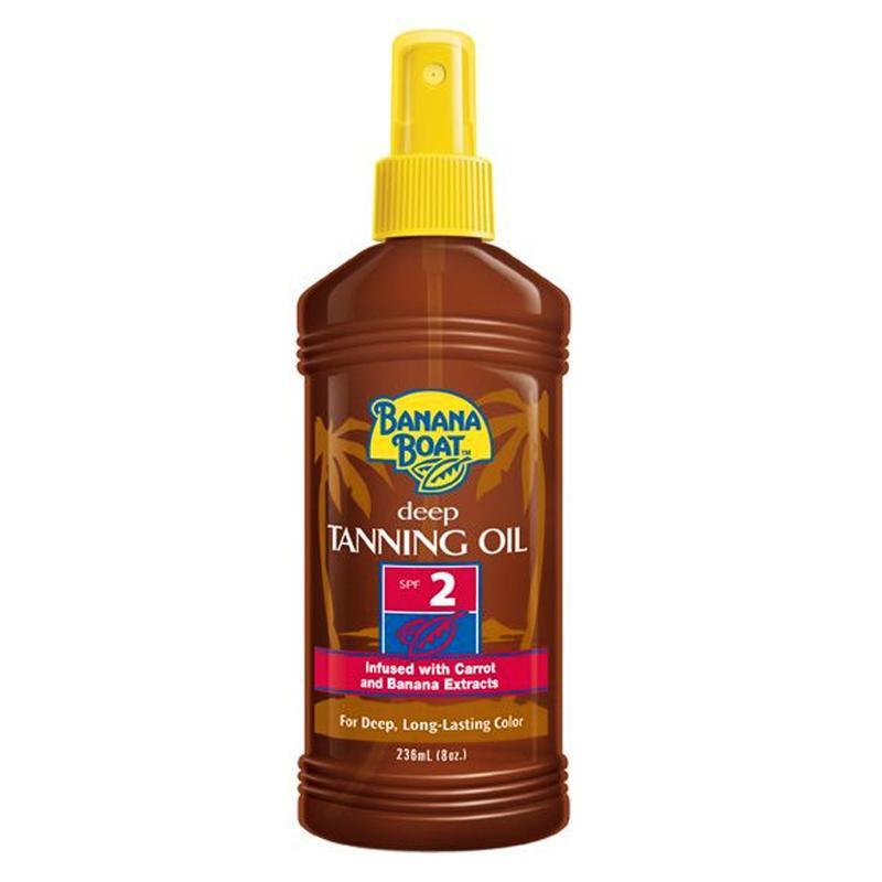 Banana Boat Deep Tanning Oil Spf 2 236Ml