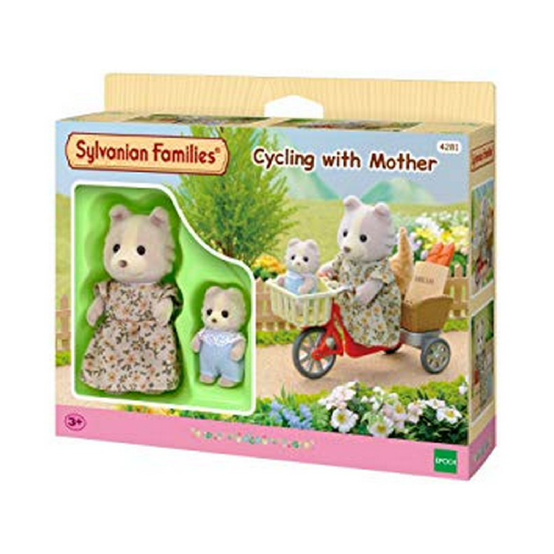 Sylvanian Families Cycling Wit Mother ESFP42810