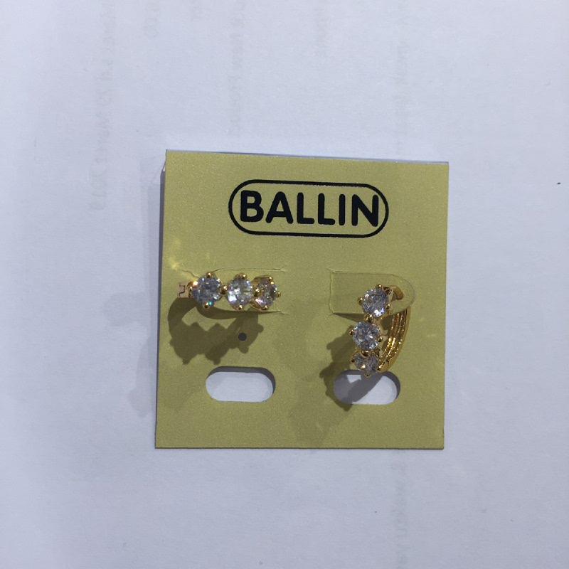 Ballin Women Earing FF-E8077G Gold