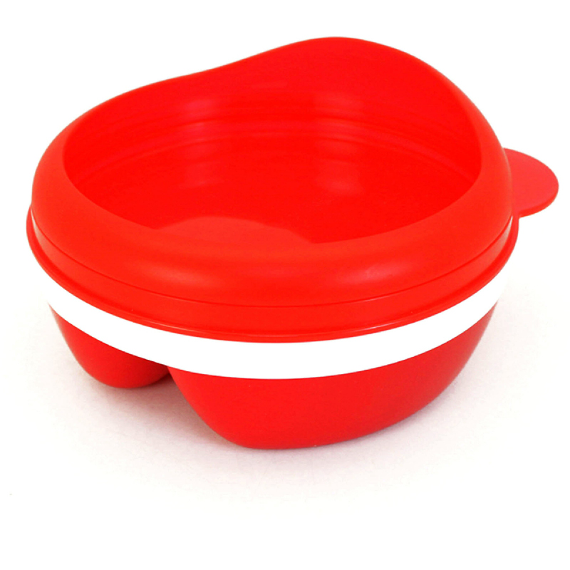Baby Beyond Non Skid Divided Bowl With Arch Lid BB1006