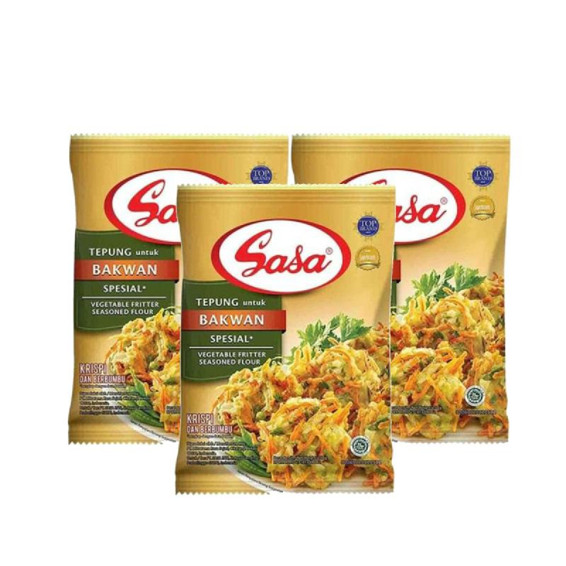 Sasa Tepung Bakwan 250 Gr (Buy 2 Get 1)