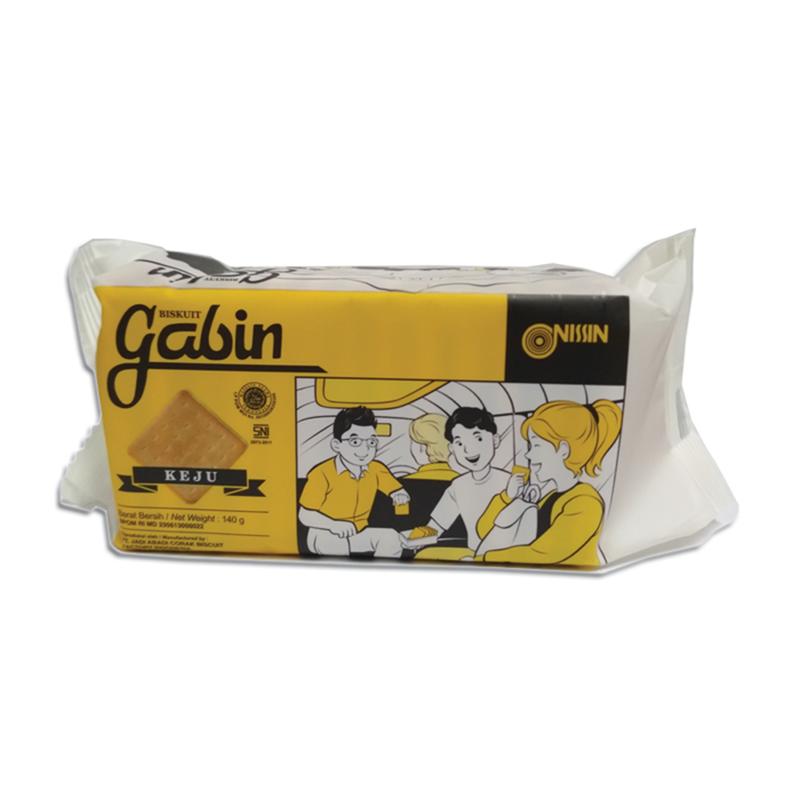 Nissin Gabin Cheese 140 gr