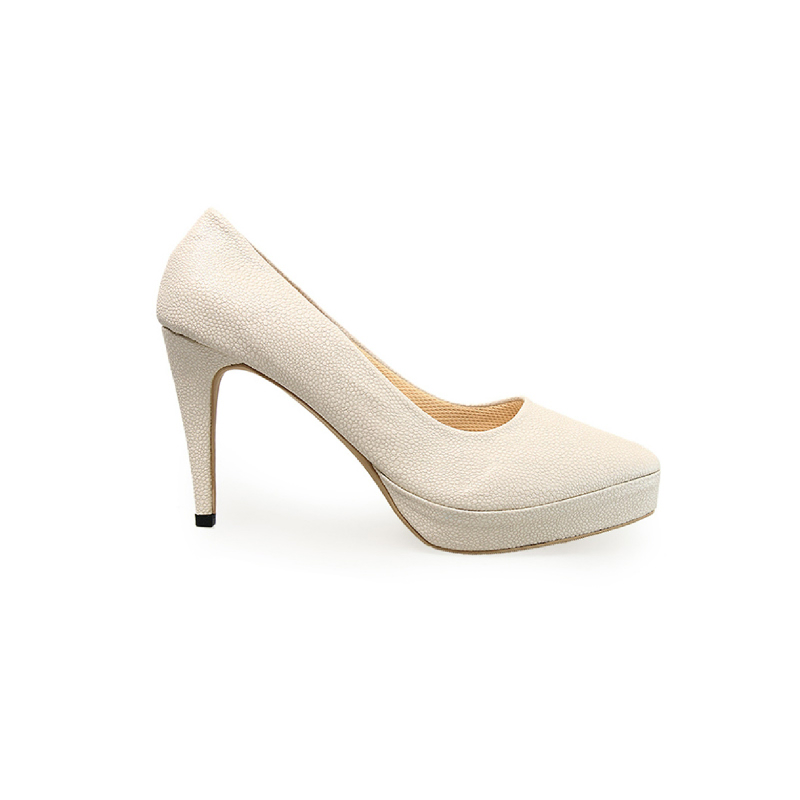 Alivelovearts Heels Candy Cream