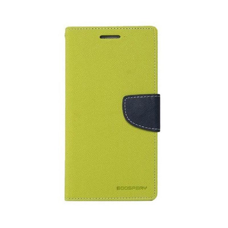 Goospery Fancy Diary Samsung Galaxy S7 Edge - Hijau